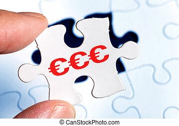 Euro Dollar sign