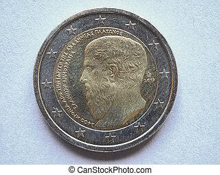 Euro (EUR) coin from Greece