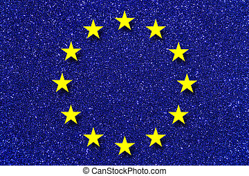 EU - Euro Europaeische Union, EU, Logo, Symbol