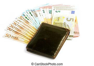 Euro in the wallet
