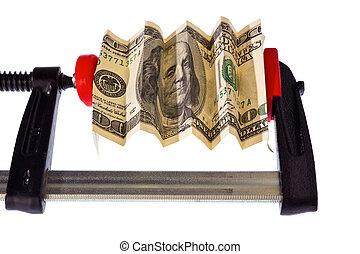 euro, lovforslag, ind, klampe