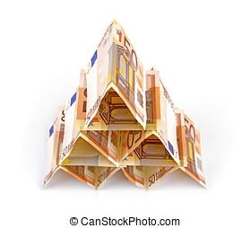 euro money pyramid