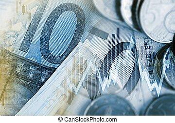 Euro Money Trader Concept