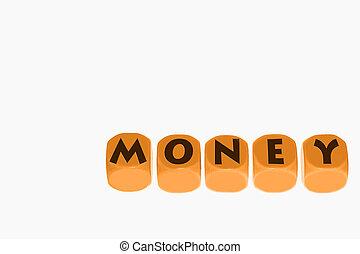 euro, monnaie, livre, dollar, concep