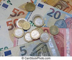 Euro notes and coins, European Union