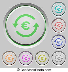 Euro pay back push buttons