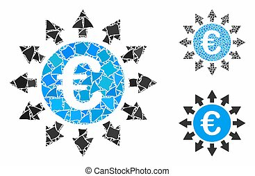 Euro payments Composition Icon of Tremulant Pieces - Euro ...