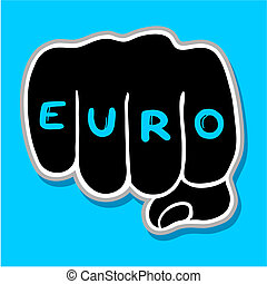 Euro punch - Creative design of euro punch