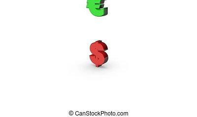 Euro Replacing Dollar