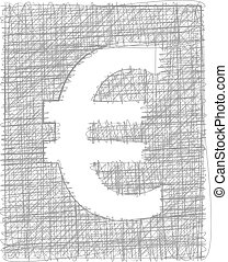 Euro sign - Freehand Symbol