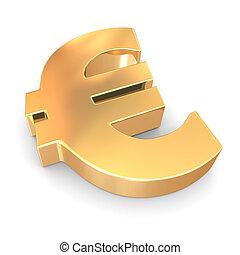 euro., signe, 3d