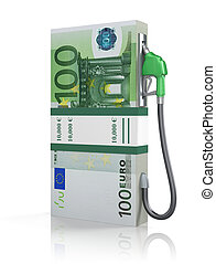 Euro stack with gas nozzle - 3D concept