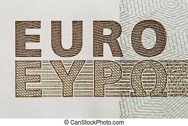 euro, text