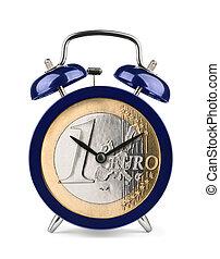 euro, tiempo