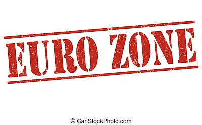 Euro zone stamp
