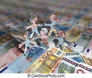 eurobiljet, acrobats, 2