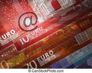 eurobiljet, handel
