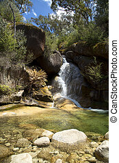 Eurobin waterfalls in Australia