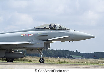 Eurofighter Typhoon jetfighter - European built Eurofighter...