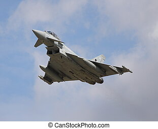 eurofighter typhoon - typhoon take off