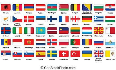 europäische markierungen, heiligenbilder