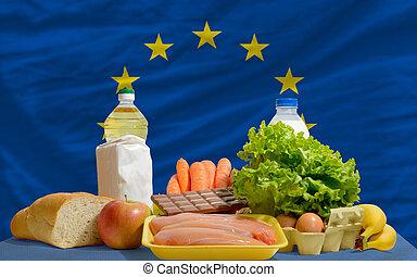 europa, alimento, bandera nacional, comestibles, básico,...