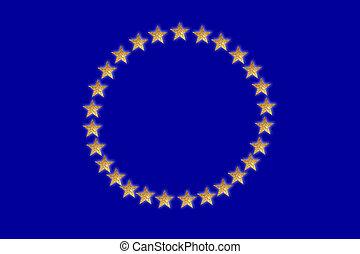 europa, bandiera