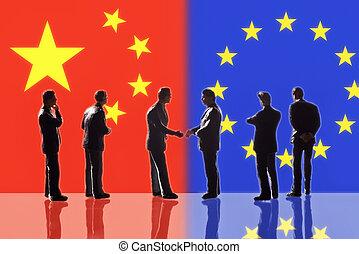 europa, china, relaciones, entre