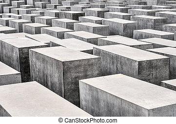europa, denkmal, ermordet, juden