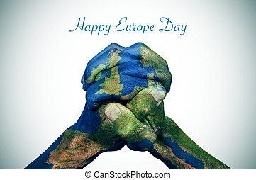 europa, dzień, szczęśliwy
