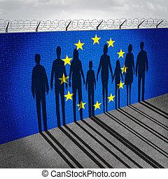 europa, imigracja