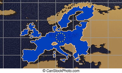 europa kugel, zoom heraus