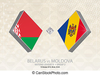 europa, liga, d, belarus, grupo, fútbol, competition., ...