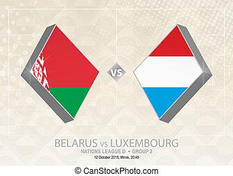 europa, liga, d, belarus, grupo, luxemburgo, competition., ...