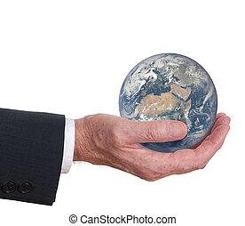 europa, mostrar, earth., concept., áfrica, responsibility., ambiental, oferece, incorporado, mundo, homem