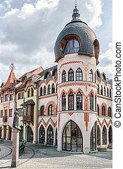 Europa place in city Komarno, Slovakia - Europa place...