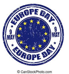 europa, selo, dia