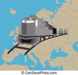 europa, treno