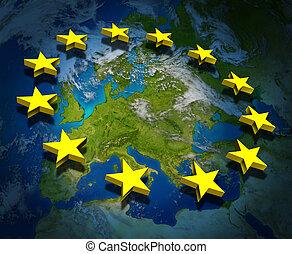 europa, unie, europeaan
