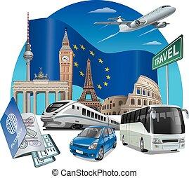 europa, viaggiare