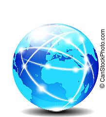 europa, y, áfrica, global
