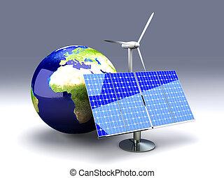 europe, alternative, -, énergie