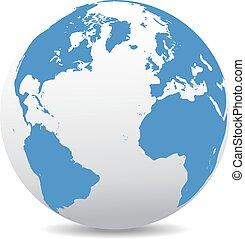 Icon of the World Globe