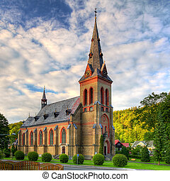 europe, catholique, église, gentil, oriental