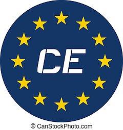 europe, cercle, symbole, communauté