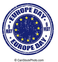 Europe day stamp