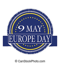 europe day stamp
