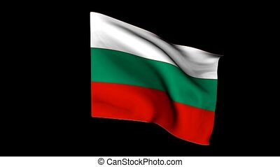 europe, drapeau, bulgarie