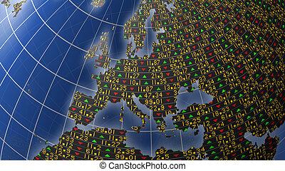 Europe economy as stock market