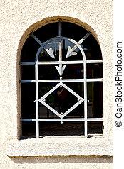 europe, flèche, vieux, italie, fenêtre, lombardie, milano, volet